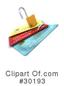 Credit Cards Clipart #30193