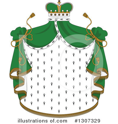 Coat Of Arms Clipart #1307329 by Vector Tradition SM