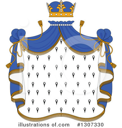 Coat Of Arms Clipart #1307330 by Vector Tradition SM