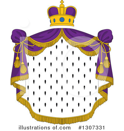 Coat Of Arms Clipart #1307331 by Vector Tradition SM