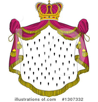 Coat Of Arms Clipart #1307332 by Vector Tradition SM
