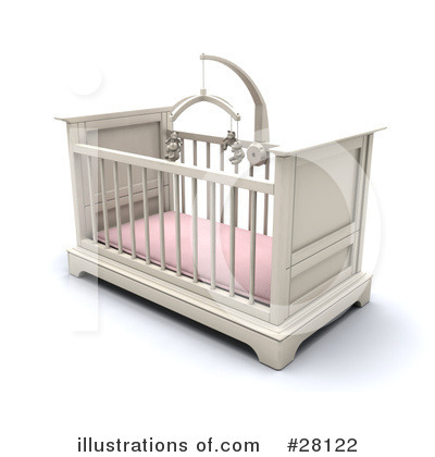 Crib Clipart #28122 by KJ Pargeter