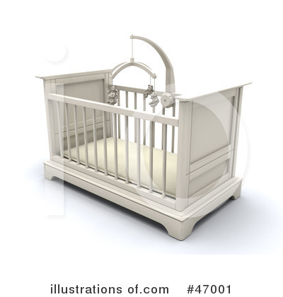 Crib Clipart #47001 by KJ Pargeter