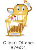 Crib Clipart #74261 by BNP Design Studio