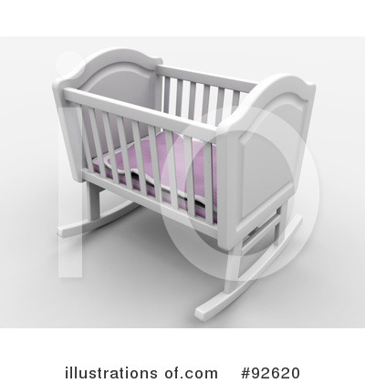 Crib Clipart #92620 by KJ Pargeter