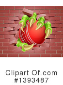 Cricket Ball Clipart #1393487