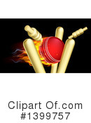 Royalty-Free (RF) Cricket Ball Clipart Illustration #1399757