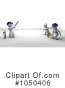Royalty-Free (RF) Cricket Clipart Illustration #1050406
