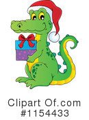 Royalty-Free (RF) Crocodile Clipart Illustration #1154433