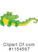 Crocodile Clipart #1154567 by visekart