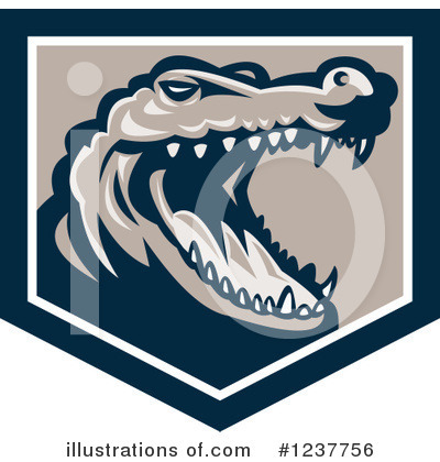 Alligator Clipart #1237756 by patrimonio