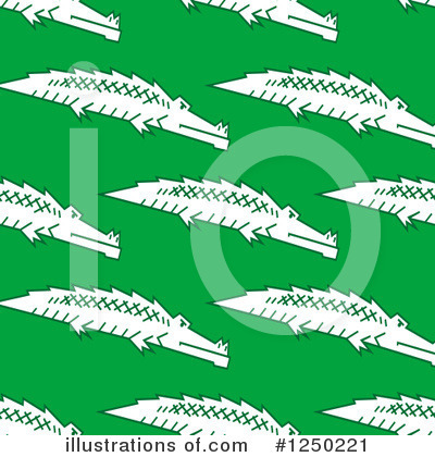 Crocodile Clipart #1250221 by Vector Tradition SM