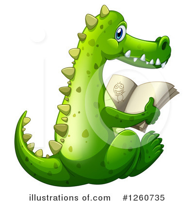 Crocodile Clipart #1260735 by Graphics RF