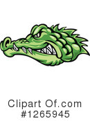 Crocodile Clipart #1265945 by Vector Tradition SM