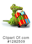 Crocodile Clipart #1282509 by Julos