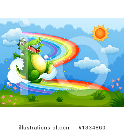Crocodile Clipart #1334860 by Graphics RF