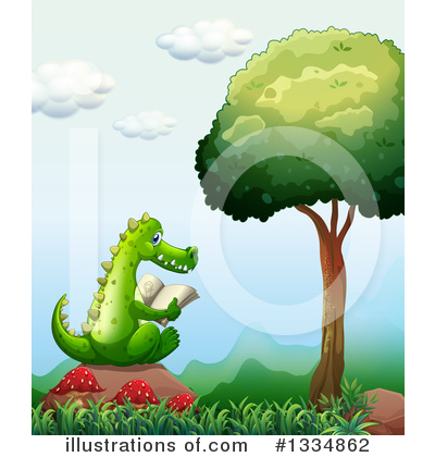 Crocodile Clipart #1334862 by Graphics RF