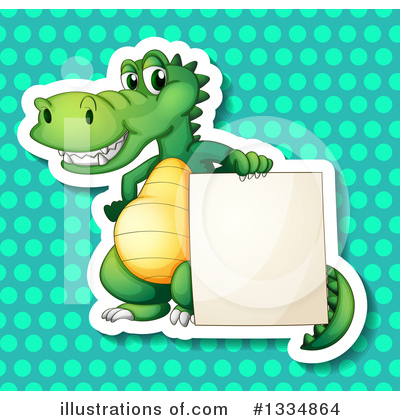 Crocodile Clipart #1334864 by Graphics RF