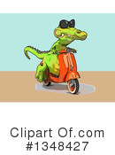 Crocodile Clipart #1348427 by Julos