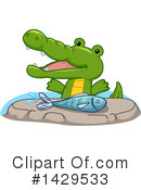 Crocodile Clipart #1429533 by BNP Design Studio