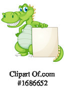 Crocodile Clipart #1686652 by Graphics RF