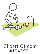 Royalty-Free (RF) Croquet Clipart Illustration #1048901
