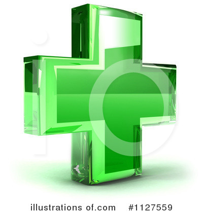 Green Cross Clipart #1127559 by Julos