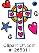 Royalty-Free (RF) Cross Clipart Illustration #1265311