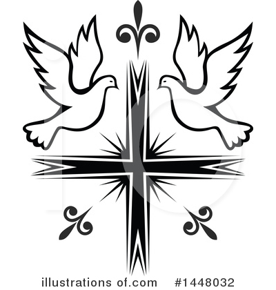 Cross Clipart #1448032 by Vector Tradition SM