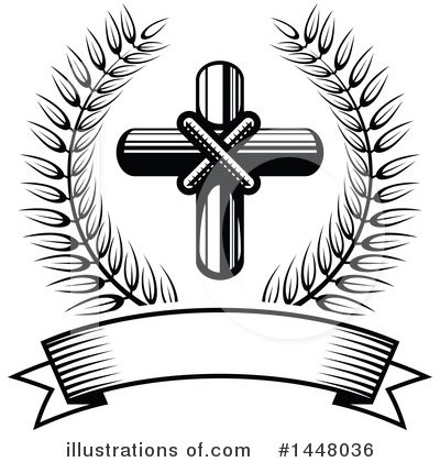 Cross Clipart #1448036 by Vector Tradition SM