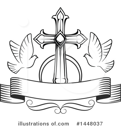 Cross Clipart #1448037 by Vector Tradition SM