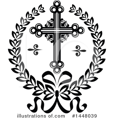 Cross Clipart #1448039 by Vector Tradition SM