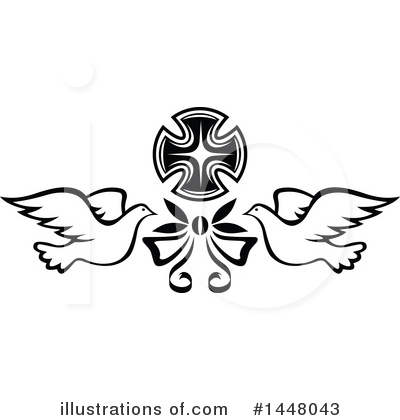 Cross Clipart #1448043 by Vector Tradition SM