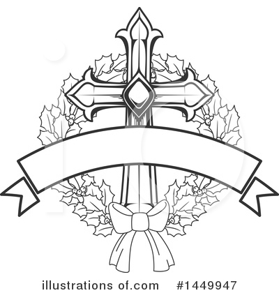 Cross Clipart #1449947 by Vector Tradition SM