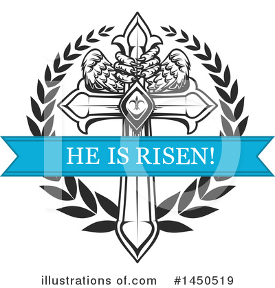 Royalty-Free (RF) Cross Clipart Illustration by Vector Tradition SM - Stock Sample #1450519