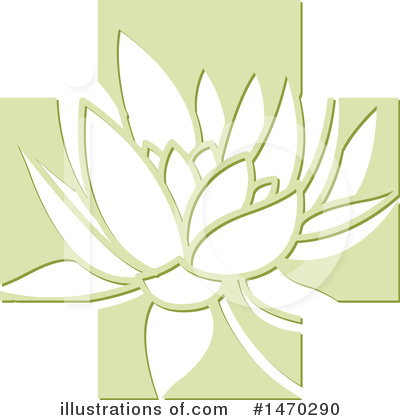 Lotus Clipart #1470290 by Lal Perera