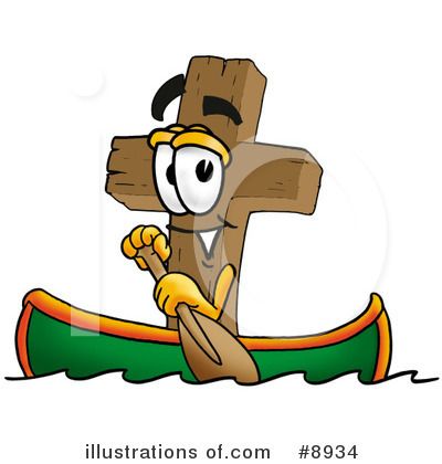 Royalty-Free (RF) Cross Clipart Illustration by Toons4Biz - Stock Sample #8934