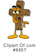 Cross Clipart #8957 by Toons4Biz