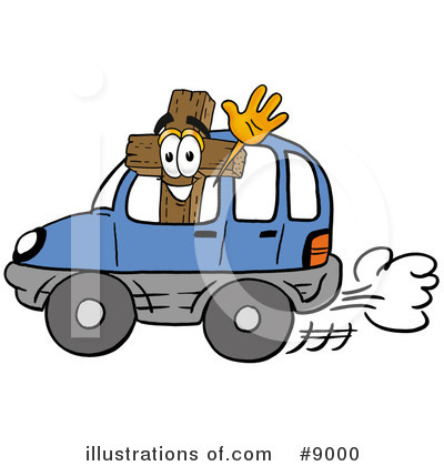 Cross Clipart #9000 by Toons4Biz