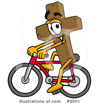 Cross Clipart #9001 by Toons4Biz