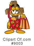 Royalty-Free (RF) cross Clipart Illustration #9003