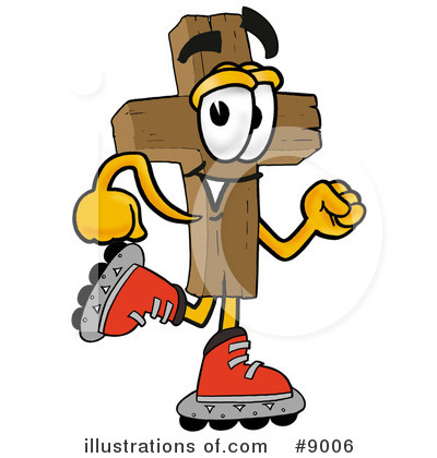 Cross Clipart #9006 by Toons4Biz