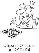 Crossword Puzzle Clipart 1290124