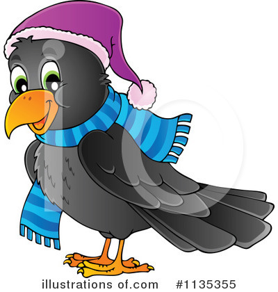 Crow Clipart #1135355 by visekart