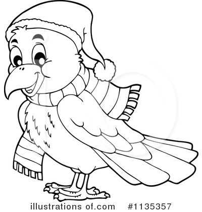 Crow Clipart #1135357 by visekart