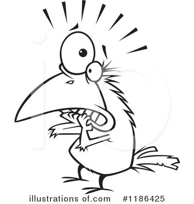 Crow Clipart #1186425 by toonaday