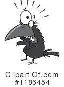 Royalty-Free (RF) Crow Clipart Illustration #1186454