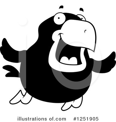 Crow Clipart #1251905 by Cory Thoman