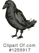 Crow Clipart #1259917 by BNP Design Studio