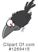 Crow Clipart #1269415 by toonaday